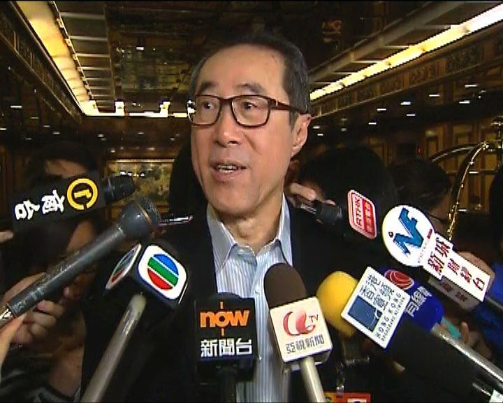 唐英年:明年諮詢政改恐太遲