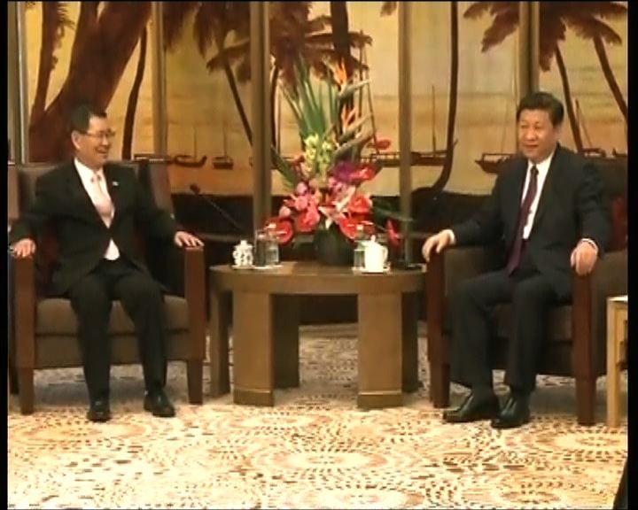 蕭萬長與習近平只談經濟不談政治