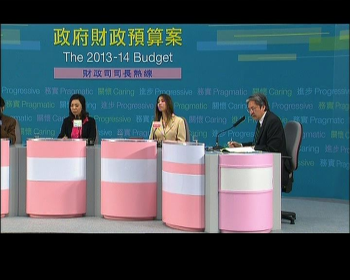 曾俊華:預算案非追求新意