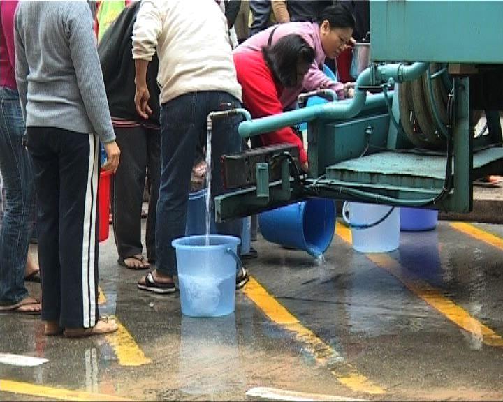 城市花園爆水管供水受影響