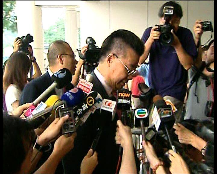 劉夢熊涉妨礙司法公正今提堂
