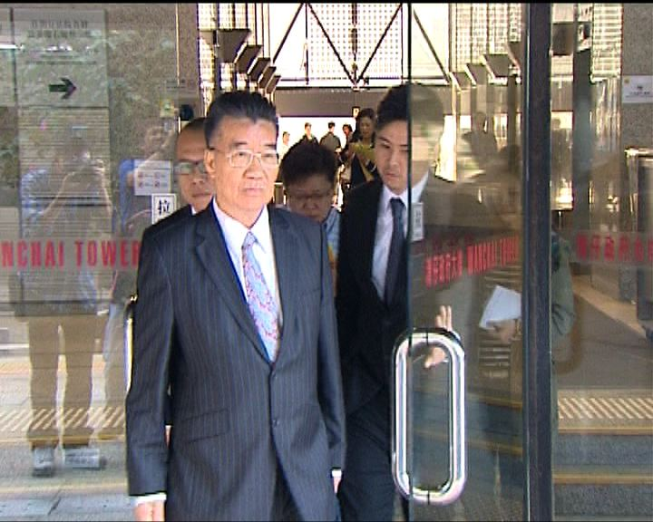 劉夢熊要求法庭終止聆訊