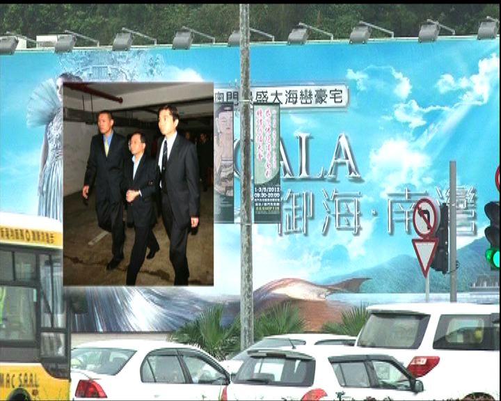 港商涉嫌賄賂案證人歐文龍下周作供