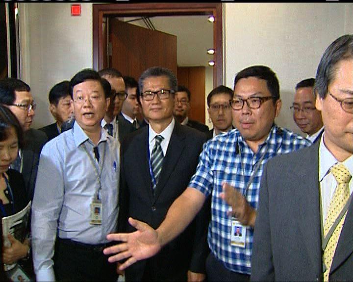 陳茂波稱太太股權轉讓有訂合約