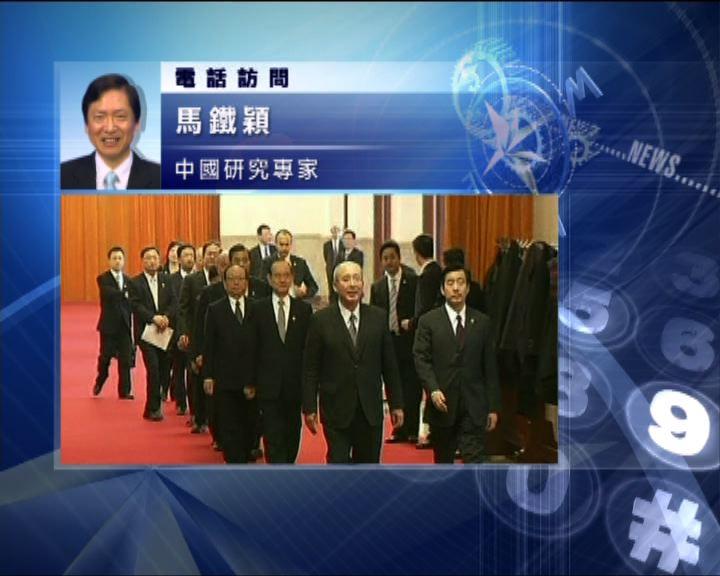 中國評論:吳伯雄訪北京