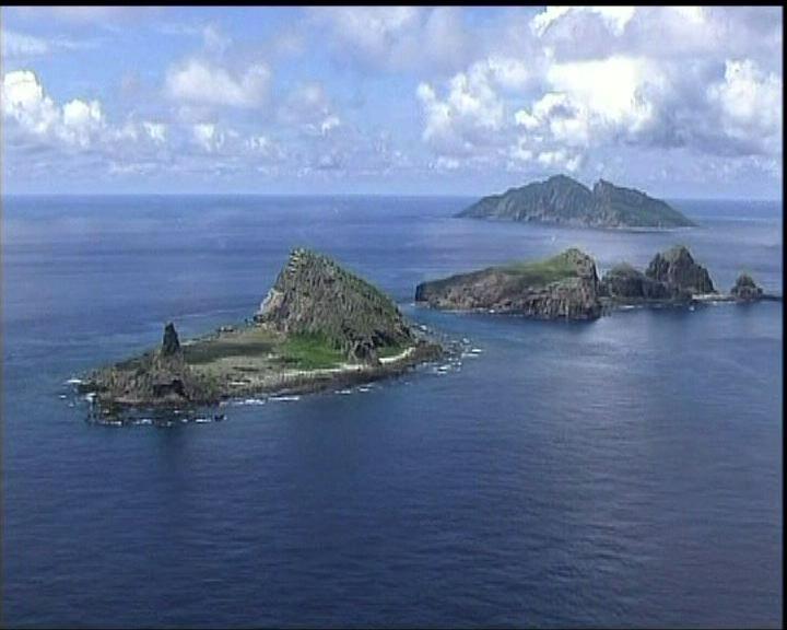 美軍軍機無知會中國飛越釣魚島