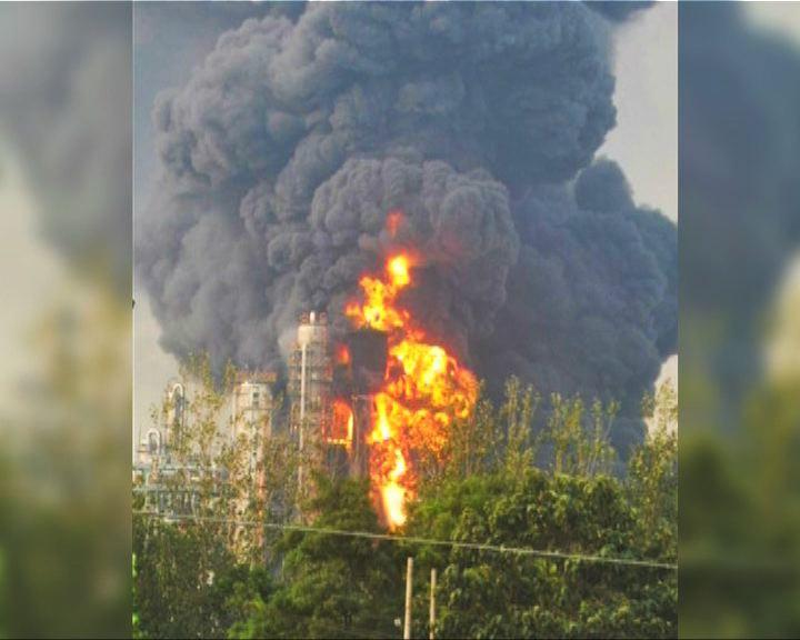 山東聊城化工廠爆炸
