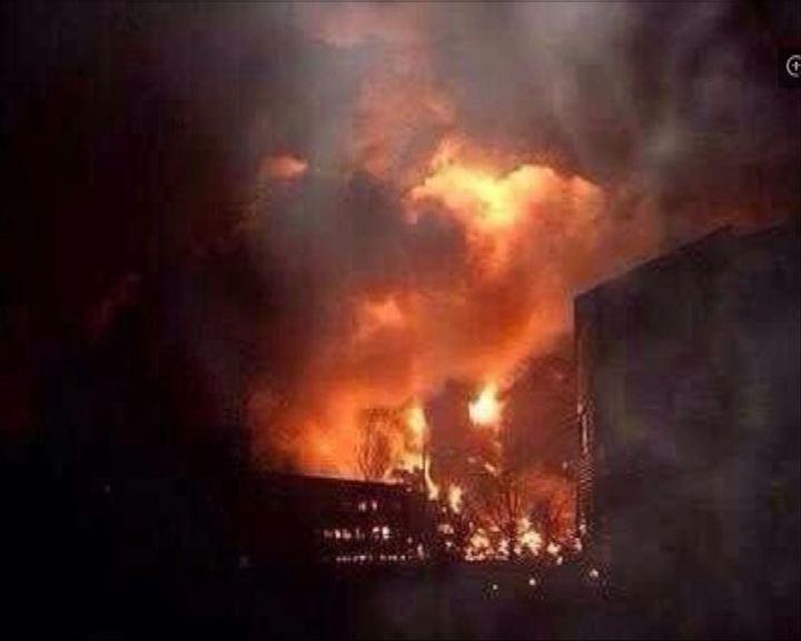 浙江直升機飛行途中爆炸墜毀