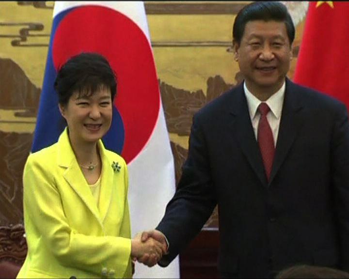 習近平形容朴槿惠是中國的老朋友