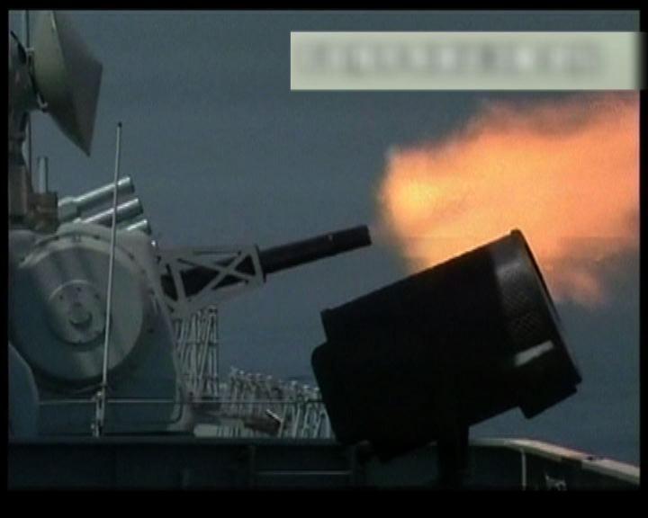 中俄聯合軍演多艘主力艦艇參加