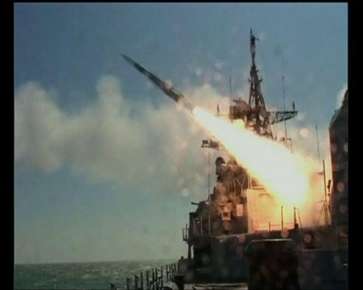 解放軍於渤海黃海執行軍事任務