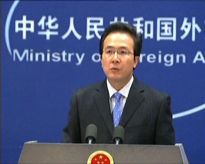 中國外交部抗議美國對台售武