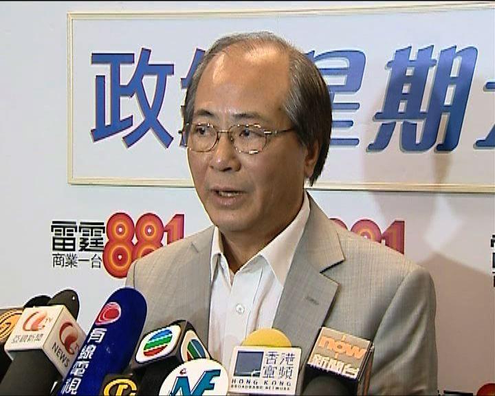 吳克儉:林慧思粗口罵警屬個別事件