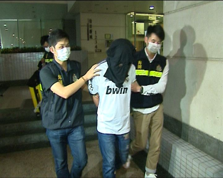 海關機場拘3人檢500萬冰毒