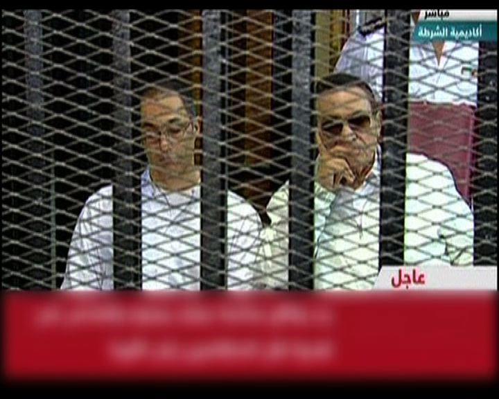 穆巴拉克上訴聆訊延至下周一