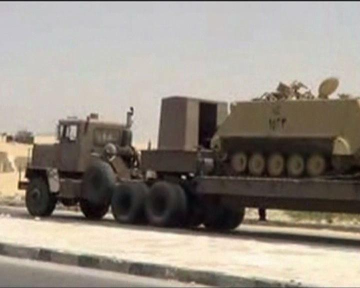 以色列罕有發射飛彈反擊埃及