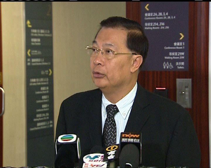 譚耀宗不贊成2016立法會大改動