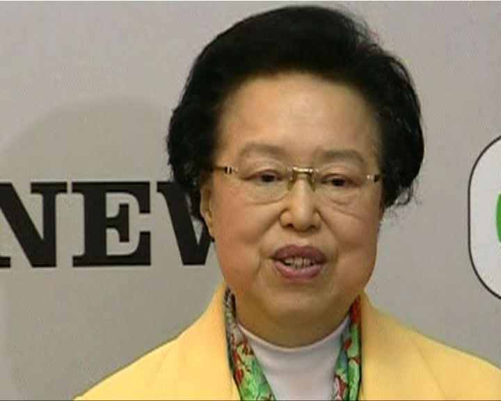 譚惠珠︰雙非問題先循行政處理
