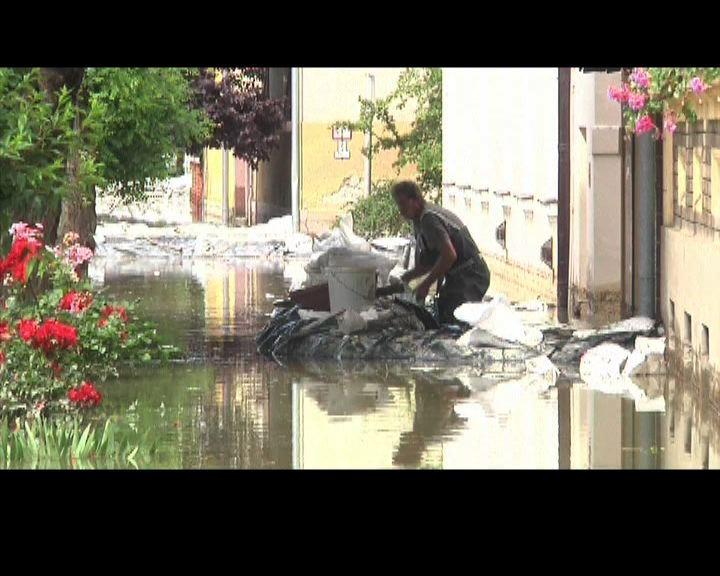 歐洲中部水災持續水位料創新高