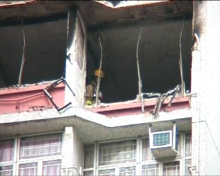 將軍澳火警致幾十名居民疏散