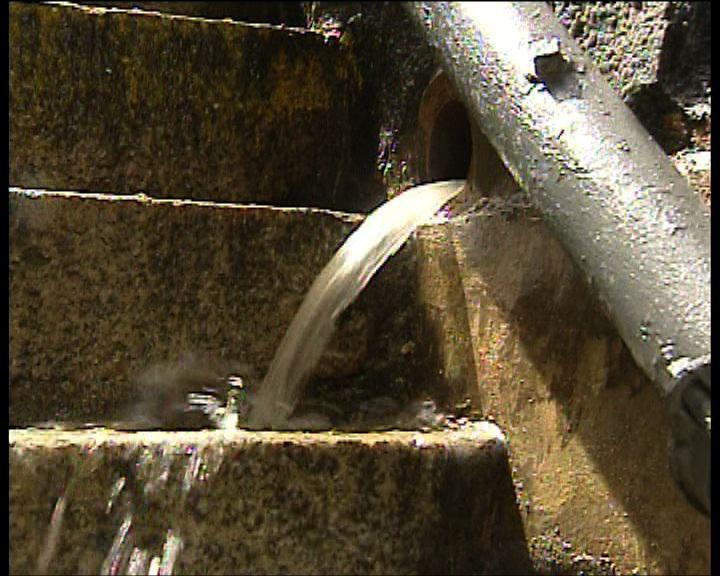 水務署:西環爆鹹水管因水管老化