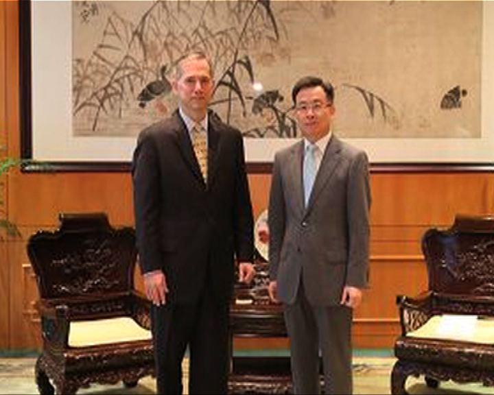 宋哲晤美領事促勿干預香港政改