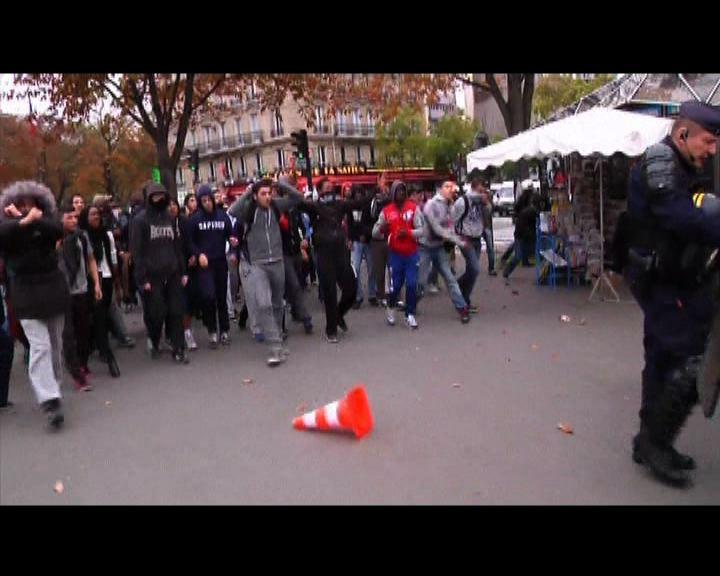 法國遣返非法入境移民觸發示威