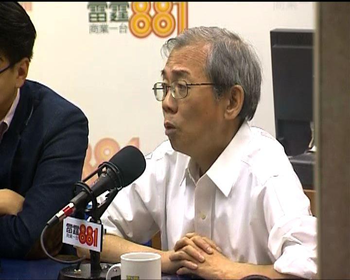 王永平指行會處理發牌做法違背營商政策