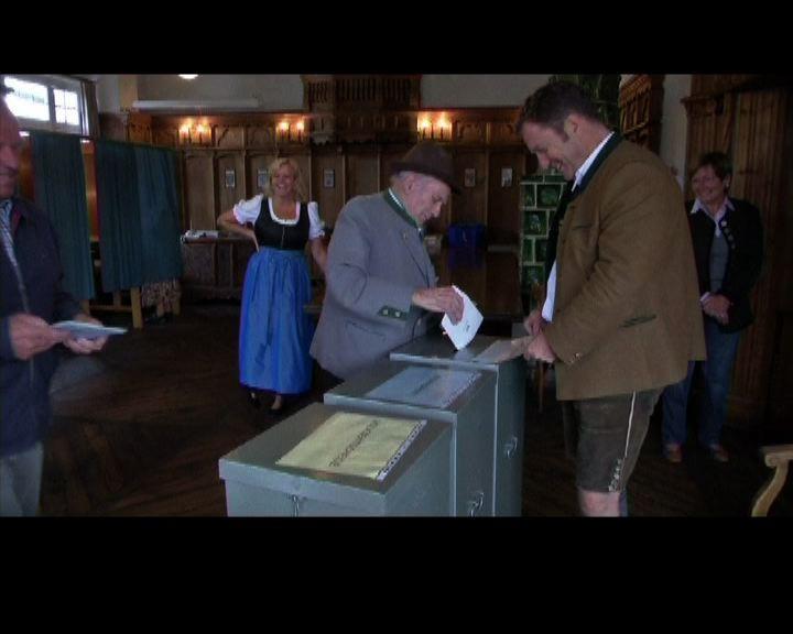 德國基民盟盟友重奪巴伐利亞州