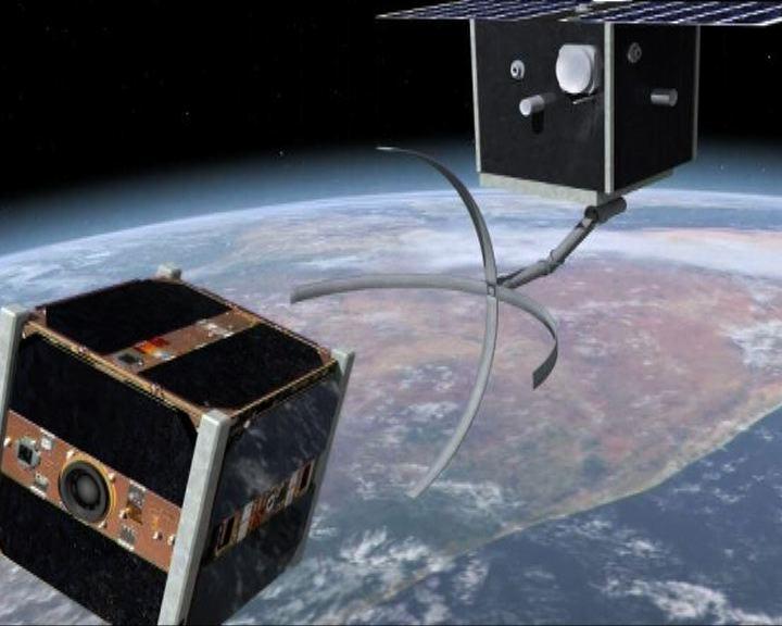 環球薈報:瑞士擬發射衛星清理太空垃圾