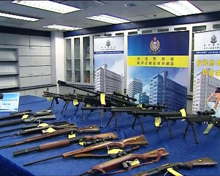警方檢大批改裝氣槍及伸縮警棍