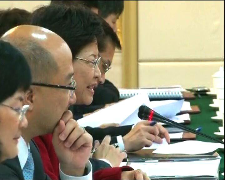 林鄭將與廣東省確立今年工作重點