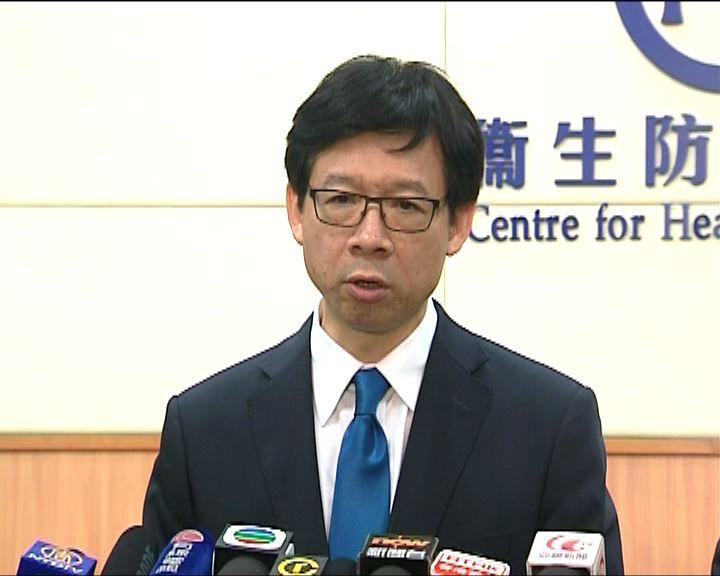梁挺雄:社區爆發H7N9風險低