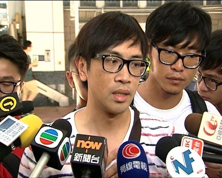 記協質疑記者被推時警員無介入