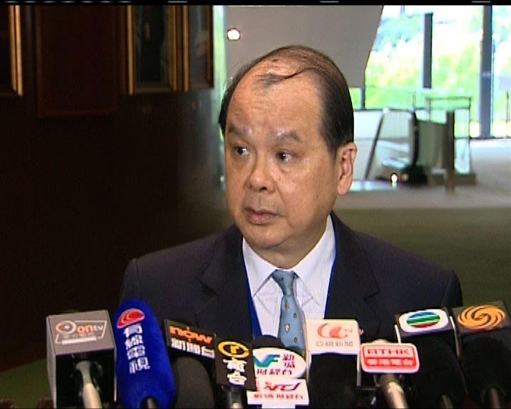 張建宗:勞工處未接獲香港電視員工求助