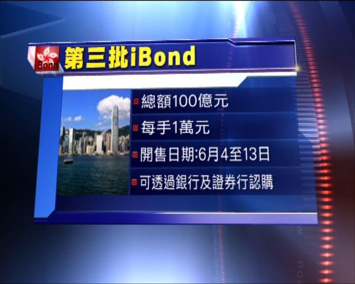 第三批iBond今日發售