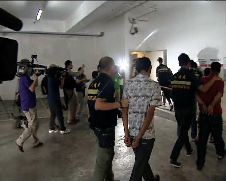 入境處及警方反黑工拘36人