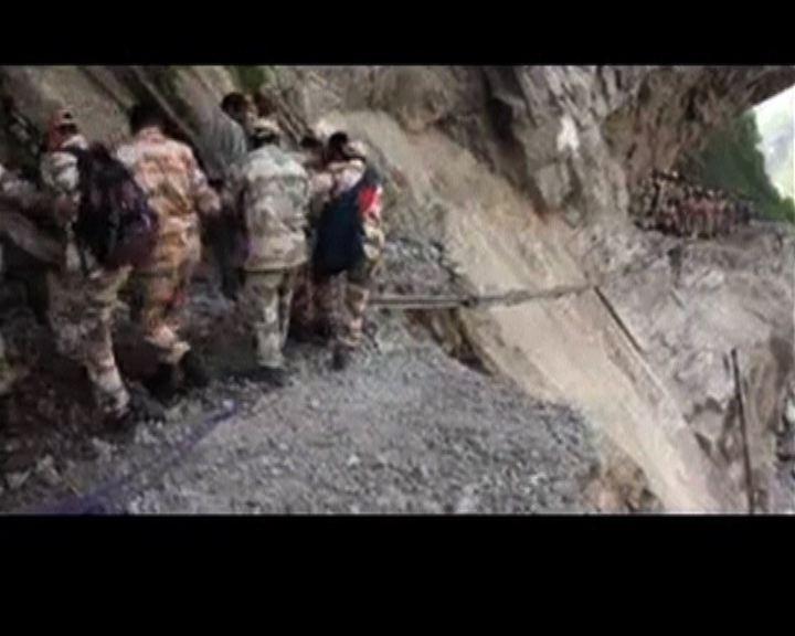 印度雨災逾千人亡
