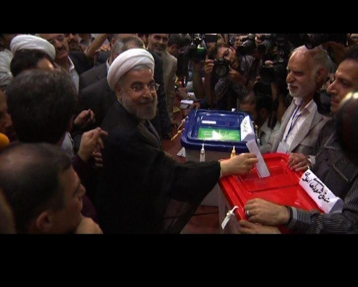 伊朗總統大選投票率達七成