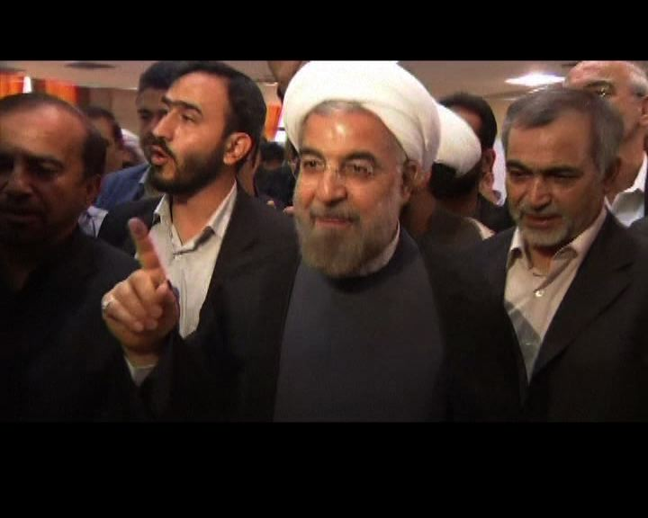 伊朗總統大選溫和保守派魯哈尼成大熱