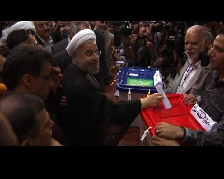 伊朗大選魯哈尼得票率大幅拋離對手