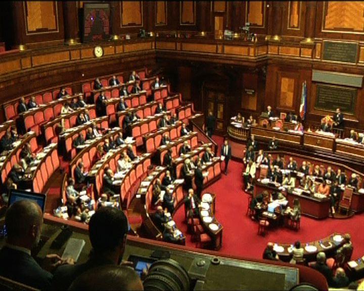 意大利五部長辭職或要提前大選