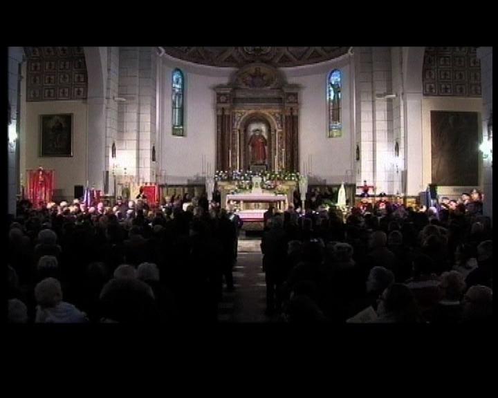 意大利舉行彌撒悼念協和號死者