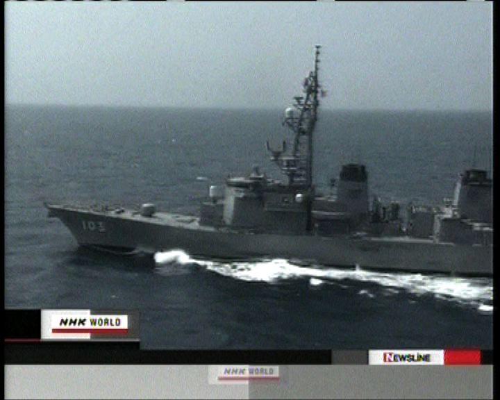 日揆對中國軍艦雷達瞄準日艦表遺憾