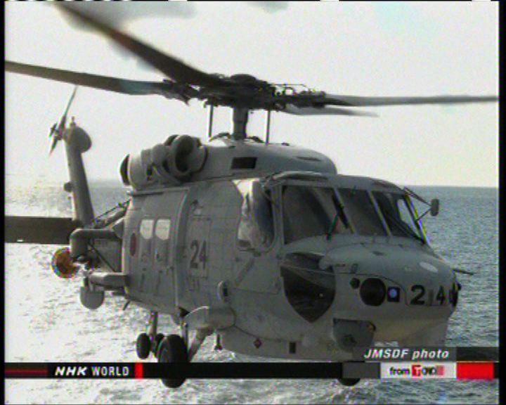 日韓在東海防空識別區內演習