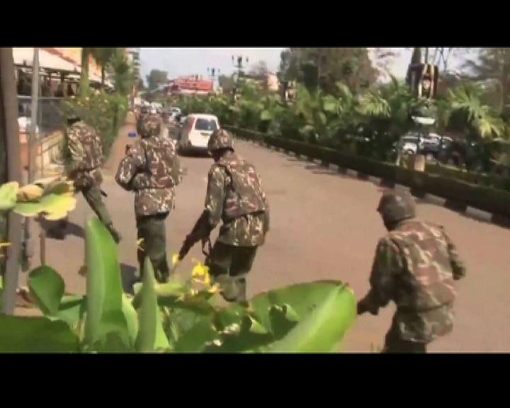 肯尼亞商場槍擊逾三十死