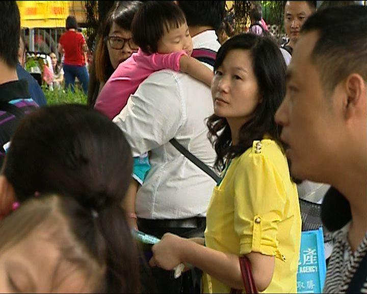 深圳家長憂子女沒幼稚園取錄