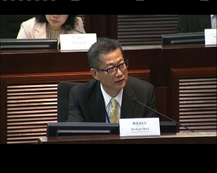 陳茂波:沒聽過留任會拖累施政
