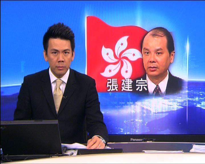 張建宗:政府會成立委員會研究標準工時
