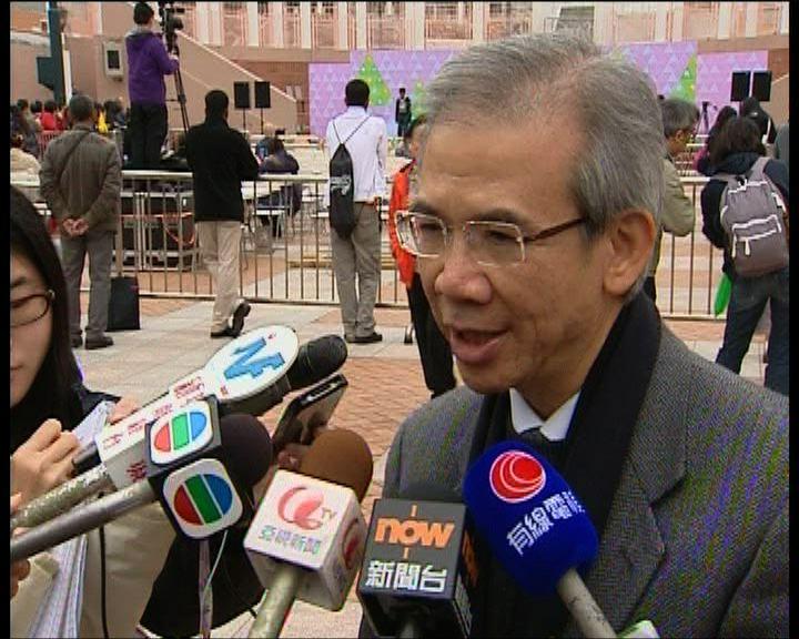 林煥光:暫時毋需實施物業空置稅